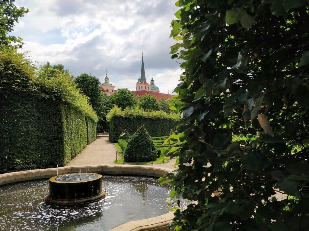 Wallenstein Garten Prag