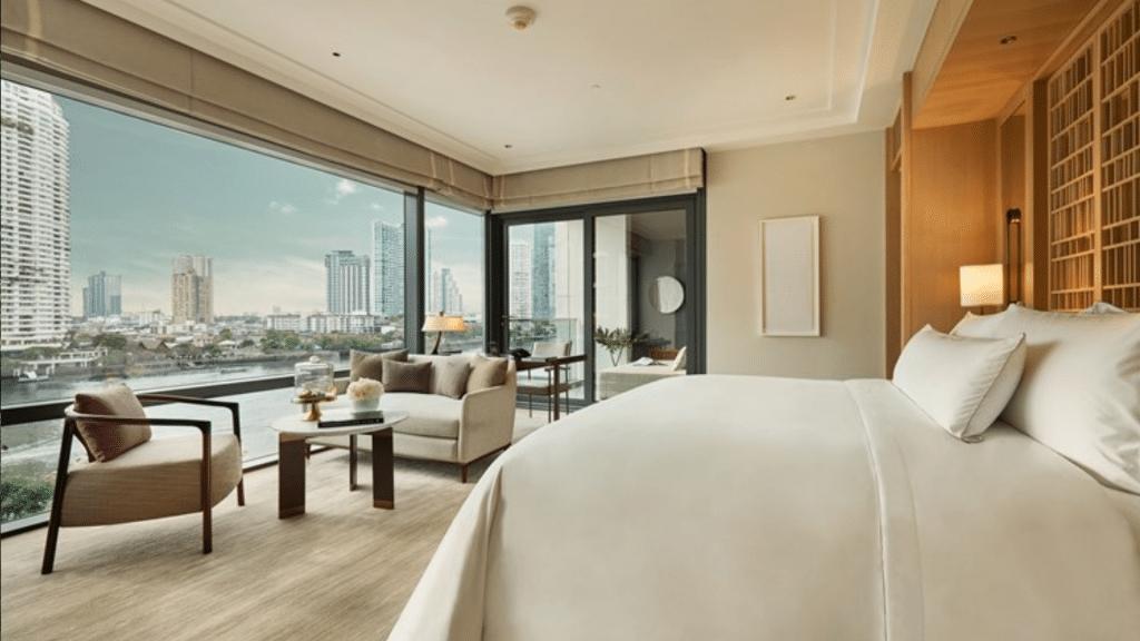Capella Bangkok Zimmer