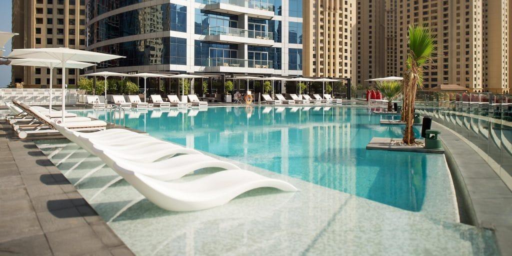 Intercontinental Dubai Marina Pool
