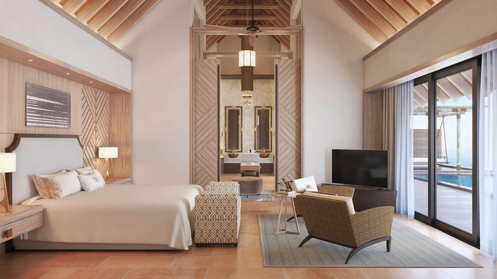 Waldorf Astoria Malediven Suite