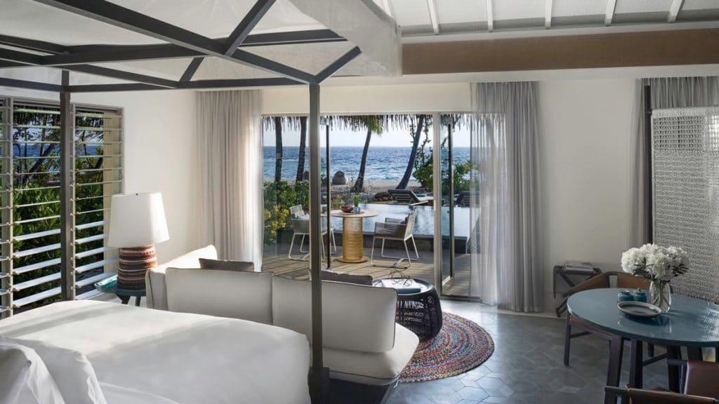 InterContinental Maamunagau Resort Villa Beach