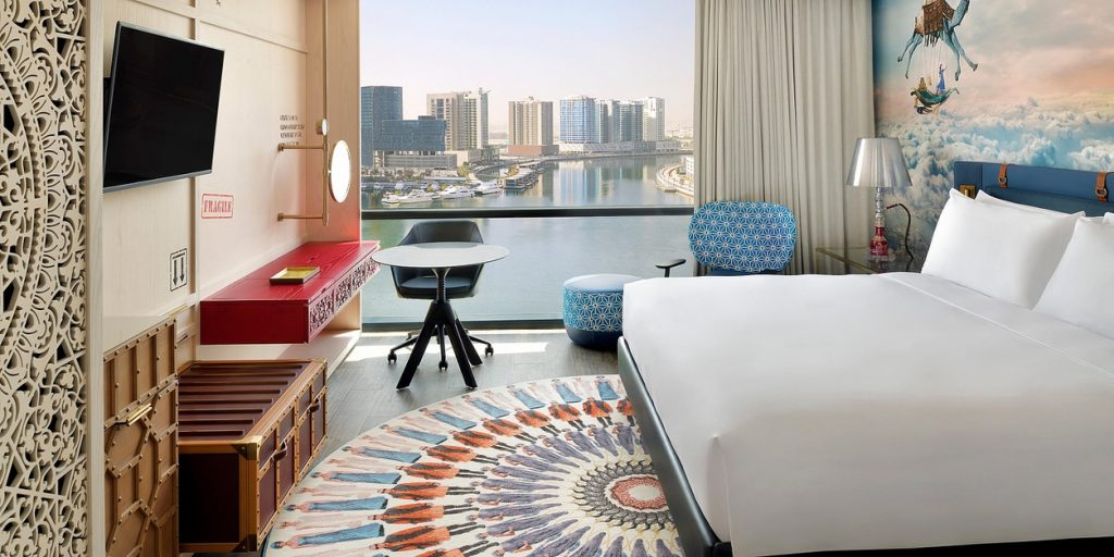 Hotel Indigo Dubai Downtown, Zimmer