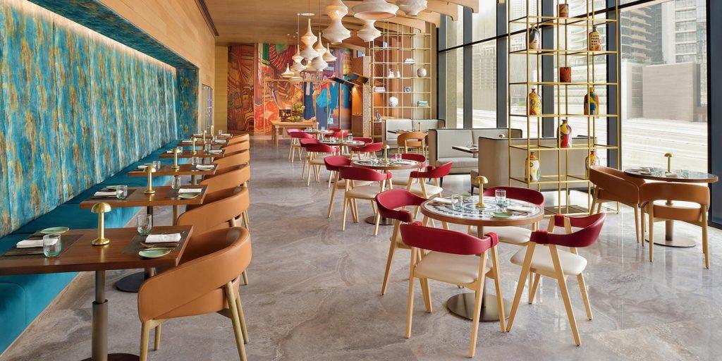 Hotel Indigo Dubai Downtown, Restaurant
