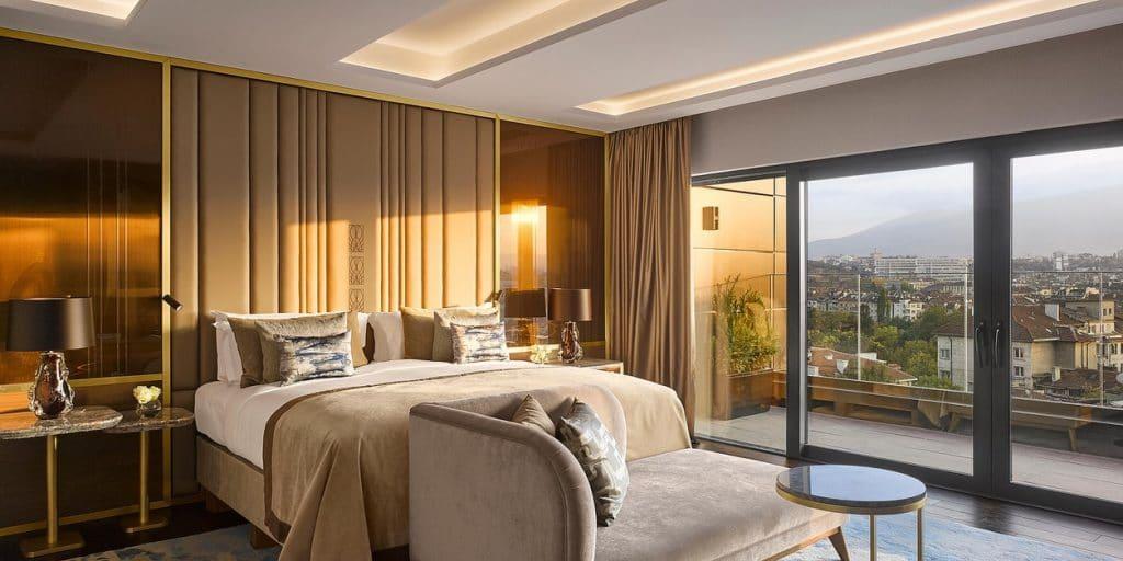 InterContinental Sofia Suite mit Terrasse