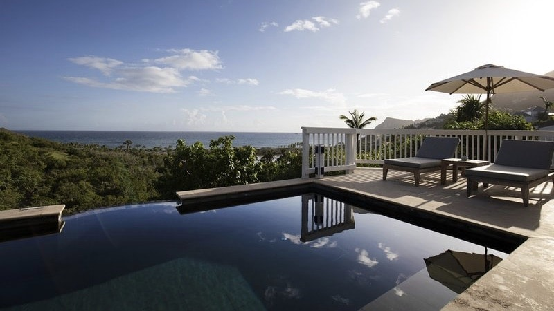 St Barth Hotel Pool