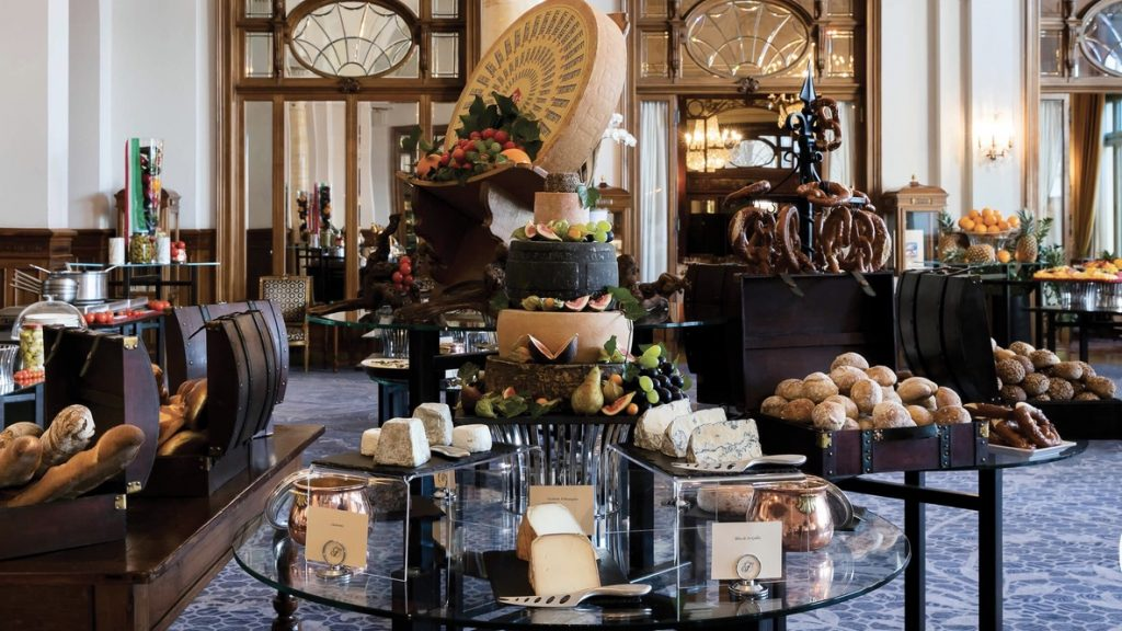 Fairmont Le Montreux Palace Brunch Buffett