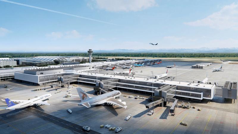 Flughafen München, Terminal 1