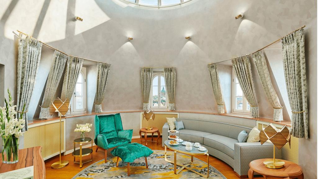 Mandarin Oriental Munich Tower Suite