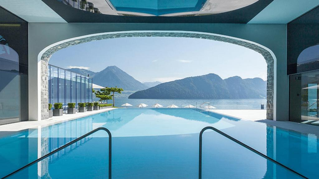Parkhotel Vitznau piscine