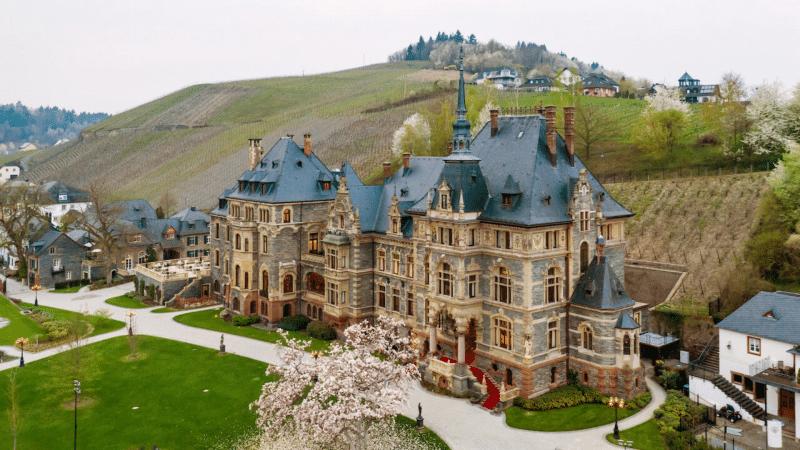 Schloss Lieser Ansicht