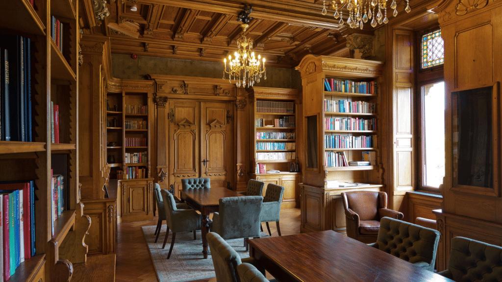 Schloss Lieser bibliothèque