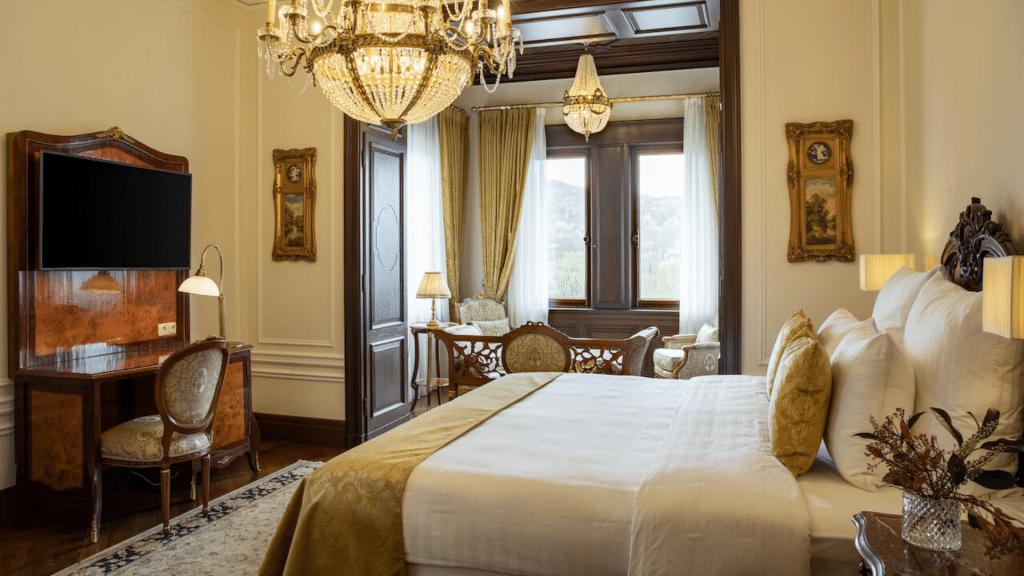 Schloss Lieser chambre