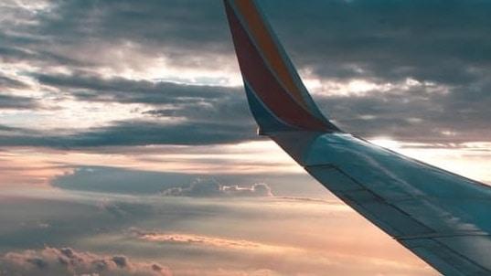 Southwest Airline Sunrise Cropped