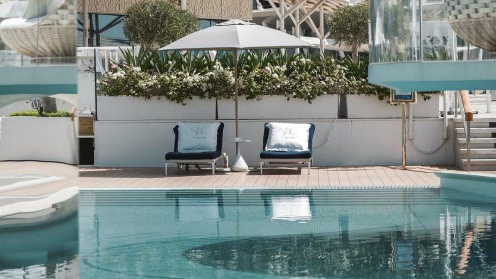 Burj Al Arab, Poolbereich Sal