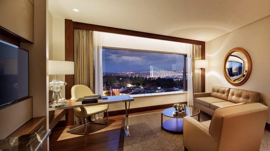 Conrad Istanbul Suite Bosporus