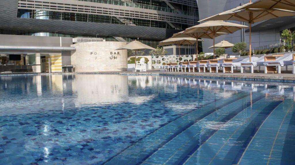 Conrad Abu Dhabi Etihad Towers Außenpool