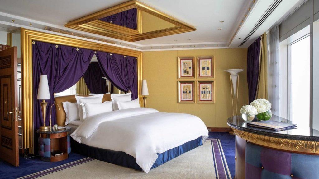 Burj Al Arab, Suite Schlafzimmer