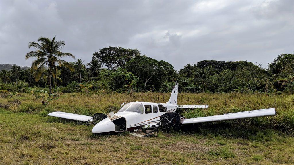 Flugzeug Wrack Panama
