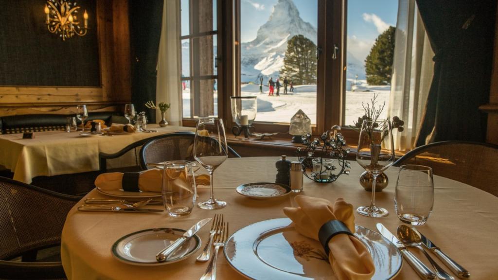 Riffelalpresort 2222m Zermatt Restaurant
