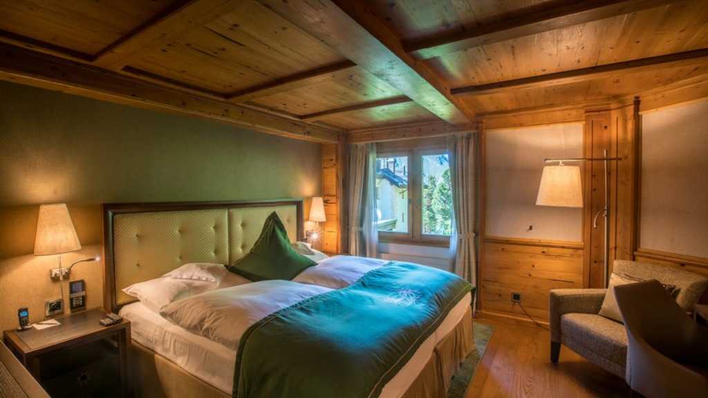 Riffelalpresort 2222m Zermatt Zimmer