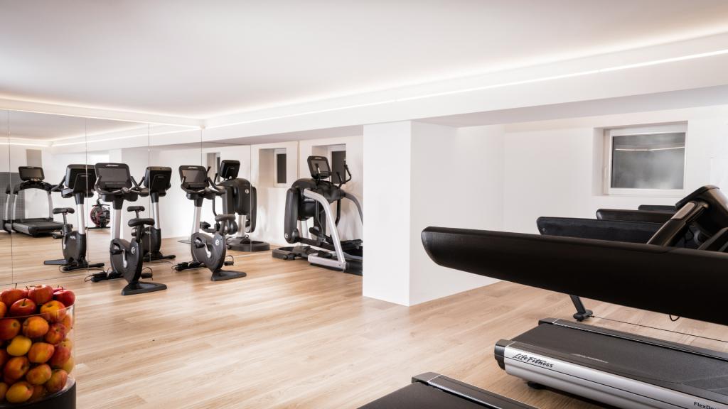 7132 Hotel Vals Fitnessraum