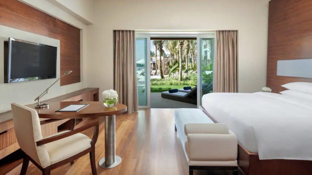 Park Hyatt Dubai Lagoon Beach Zimmer