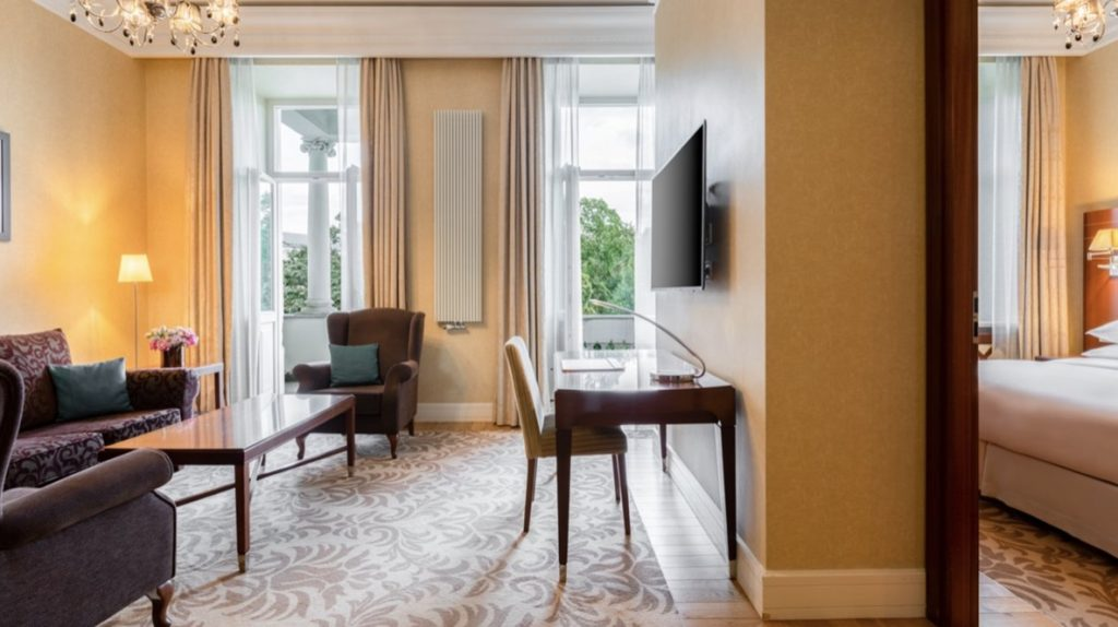 Grand Hotel Kempinski Vilnius Executive Suite