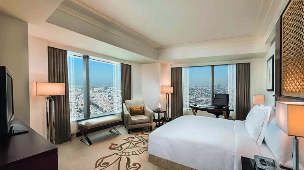 Conrad Dubai, Executive Zimmer Bild 2