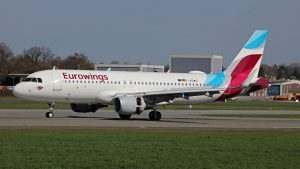 Eurowings Airbus A320 Cropped