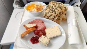 Lufthansa Business Class Catering
