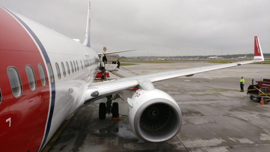Norwegian Boeing 737 800
