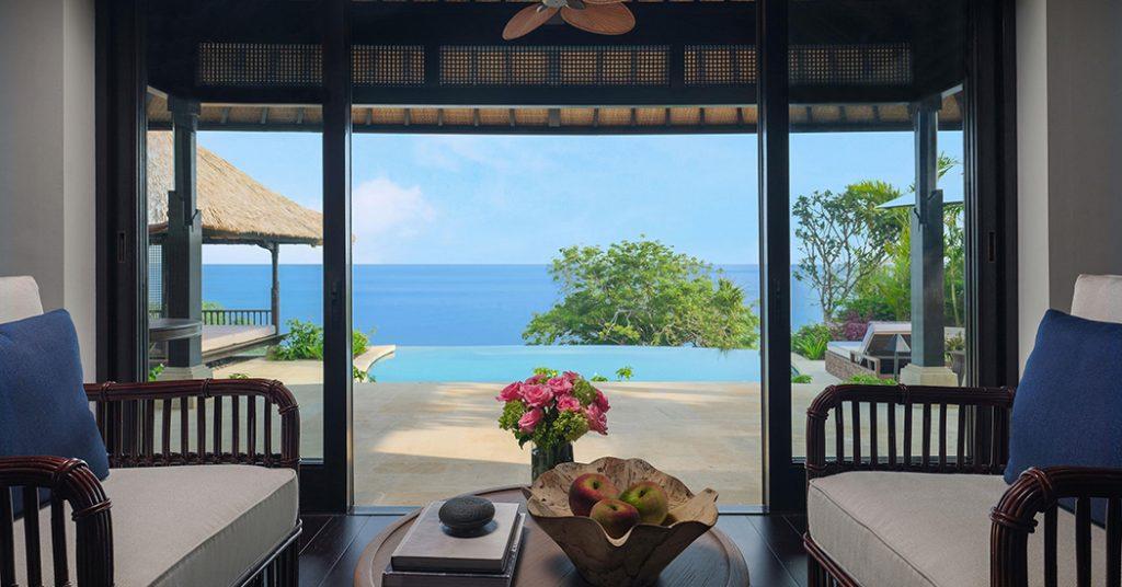 Ocean Pool Villa Raffles BAli