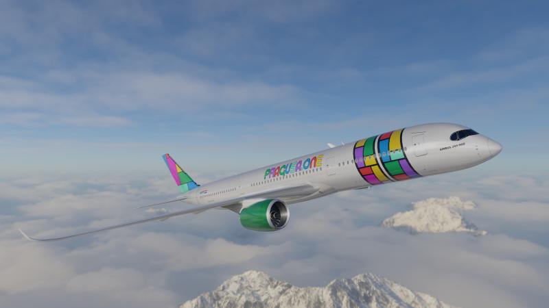 PRAGUSA.ONE Airbus A350 900