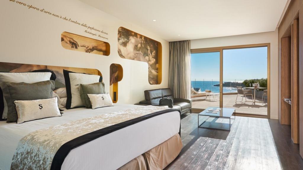 Luxushotel Pure Salt Port Adriano Mallorca Junior Suite Sea View