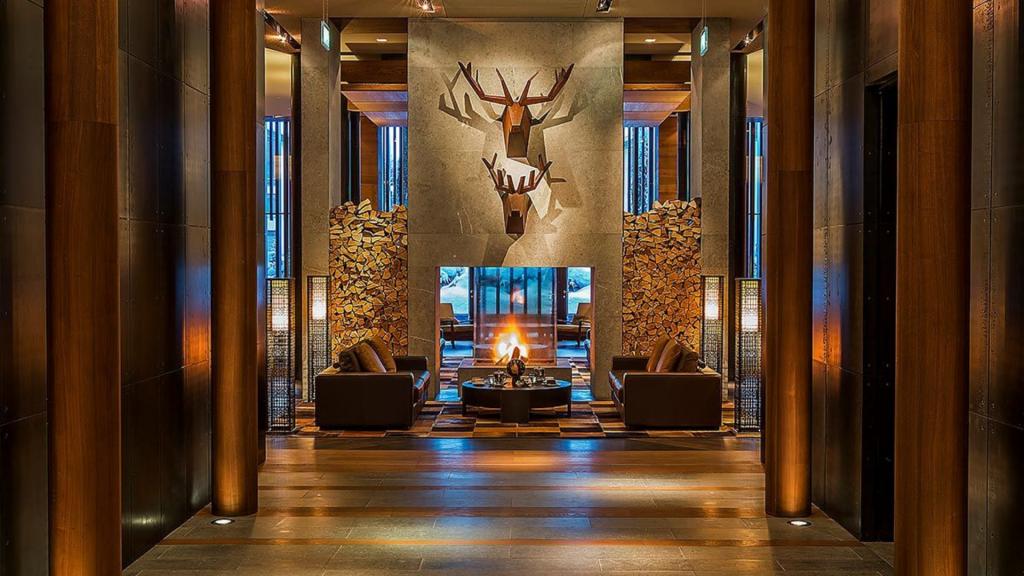 The Chedi Andermatt Lobby