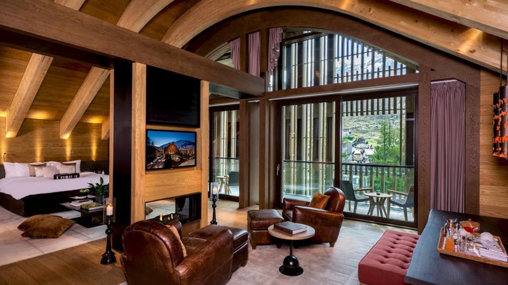 The Chedi Andermatt Suite