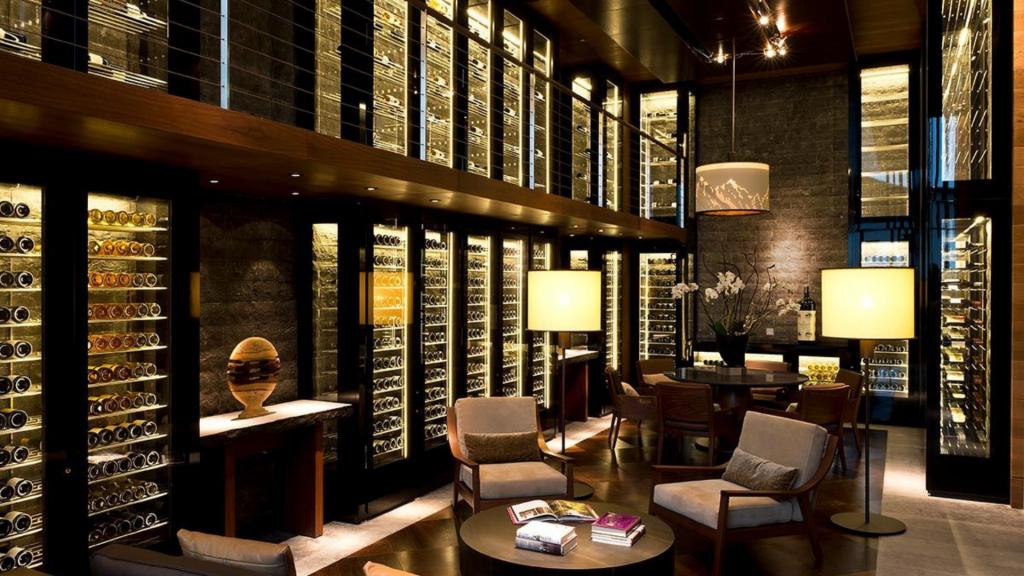 The Chedi Andermatt Wine Library