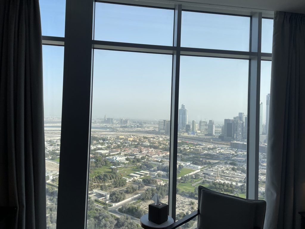 Waldorf Astoria Dubai International Financial Centre View