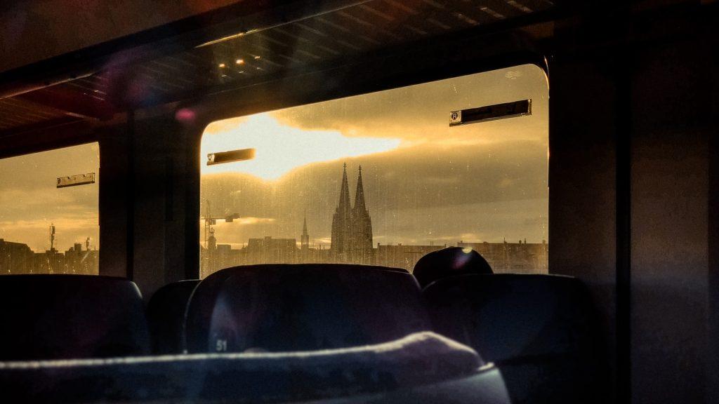 Deutsche Bahn Fenster