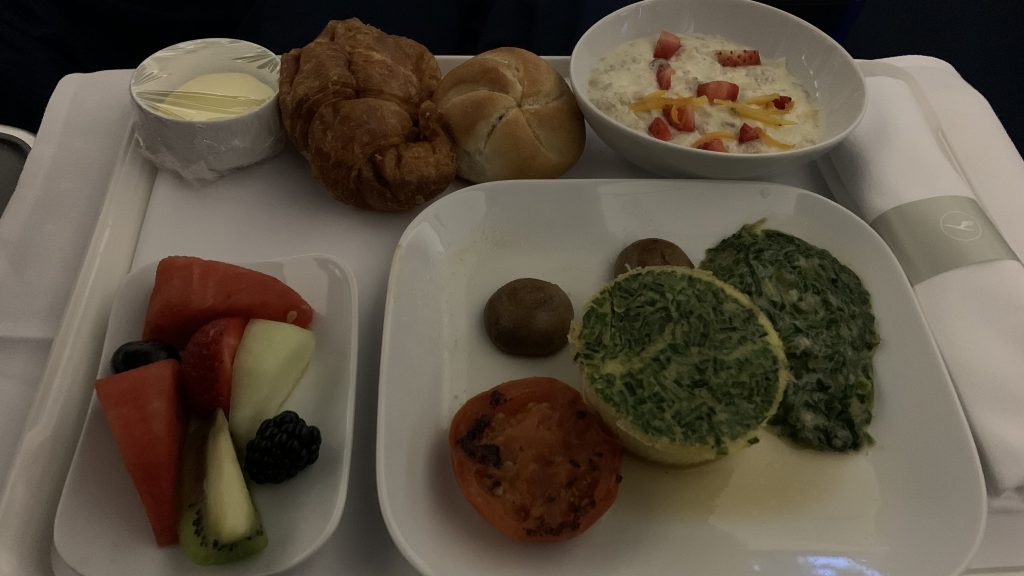 Lufthansa Business Class Essen
