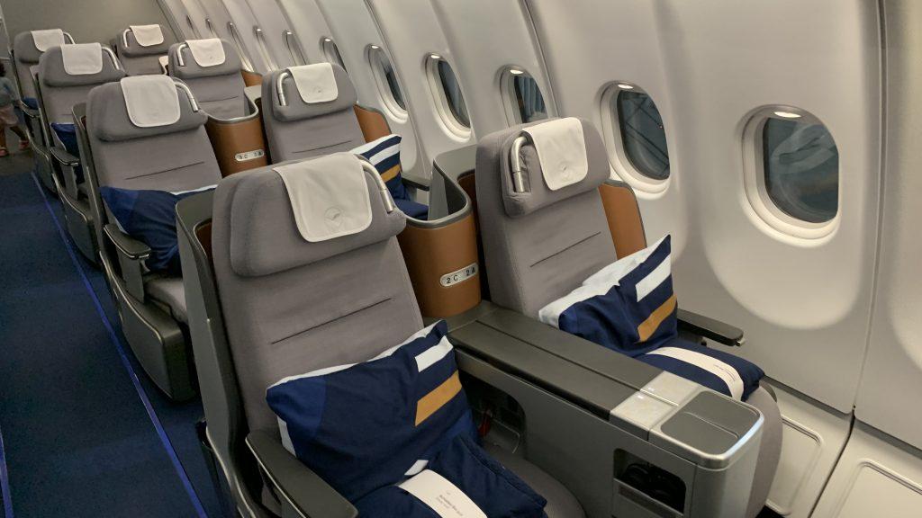 Lufthansa Business Sitz 4