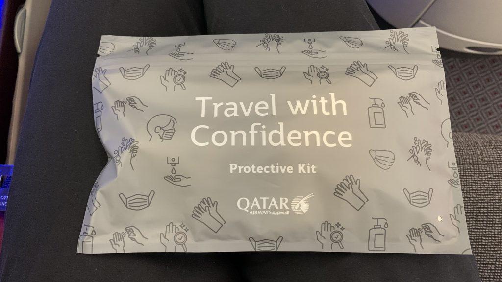 Qatar Airways Business Class Corona Kit