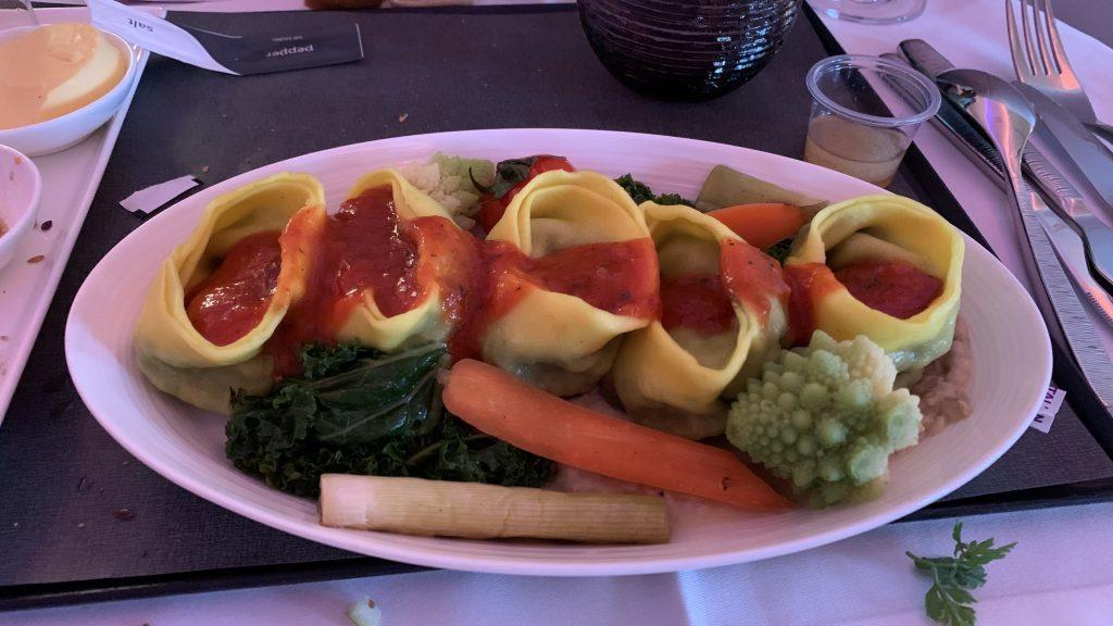 Qatar Airways Business Class Essen