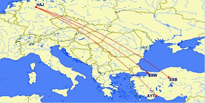 Anadolu Jet Hannover