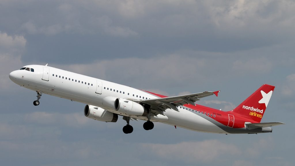 Airbus A321 231, Nordwind Airlines JP7626066