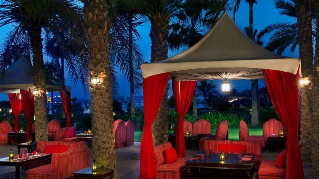 Amaseena Restaurant Ritz Carlton Dubai 2
