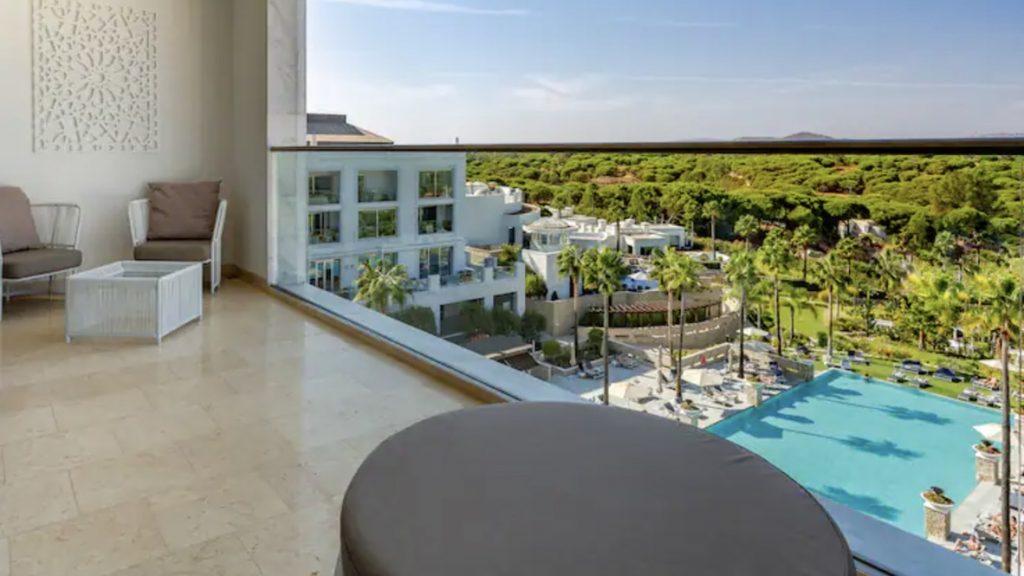 Conrad Algarve Grand Delucxe Pool Zimmer Balkon