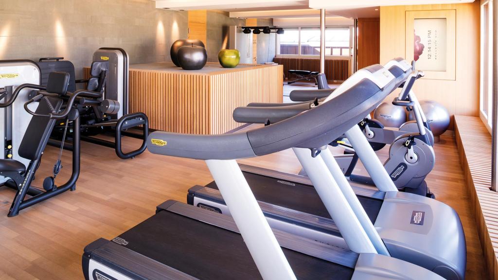 Bellevue Palace Bern Fitnessraum