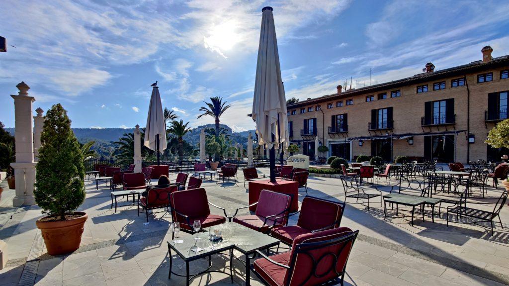 Castillo Hotel Son Vida Mallorca Bar Terrasse