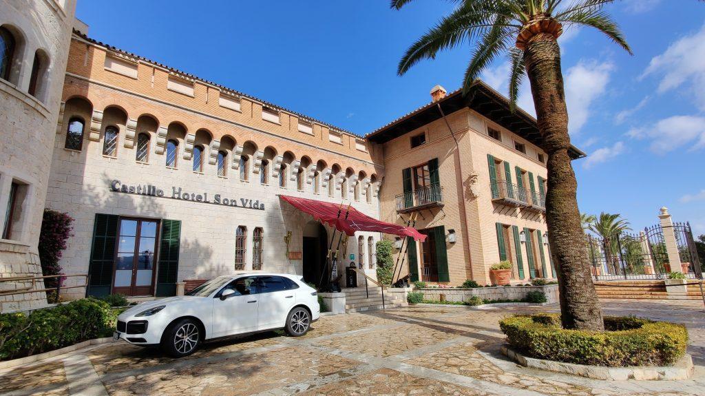 Castillo Hotel Son Vida Mallorca Gebäude
